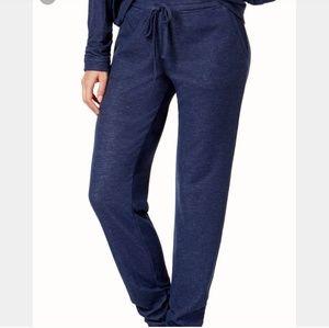 Alfani NWT Blue Lounge Drawstring PJ Pants M